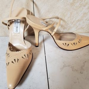 NEW JIMMY CHOO POINTED TOE SANDALS